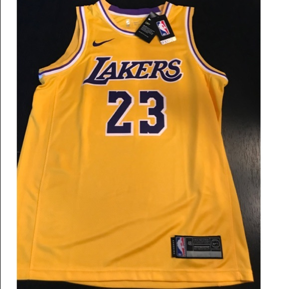 wholesale dealer 966a5 79bc4 La Lakers Lebron James Basketball Nike Jersey